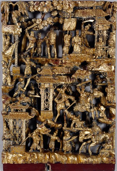Untitled [Temple screen], by unknown artist