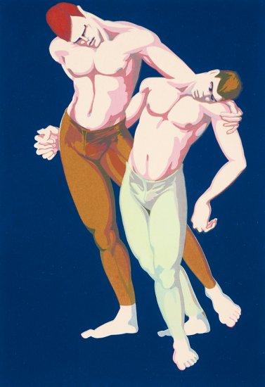 Dancers, by N.S. Salter
