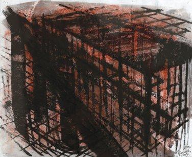 Newark Cage by Denyse Thomasos