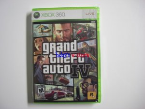 Grand Theft Auto IV Xbox 360 - Brand New, Sealed, & Free Shipping