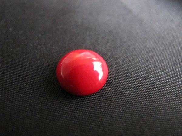 Red Coral Sea Bamboo Coral 12 mm round cabochons for jewellery making-Free shipping