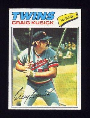 1977 Topps Baseball #038 Craig Kusick - Minnesota Twins