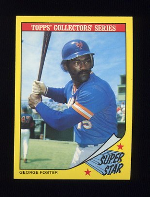 1986 Woolworth's Baseball #11 George Foster - New York Mets