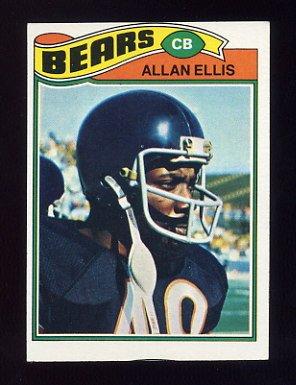 1977 Topps Football #321 Allan Ellis - Chicago Bears