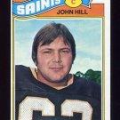 1977 Topps Football #117 John Hill - New Orleans Saints