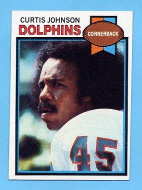 1979 Topps Football #493 Curtis Johnson - Miami Dolphins