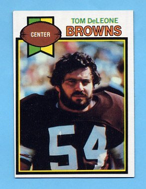 1979 Topps Football #473 Tom DeLeone - Cleveland Browns