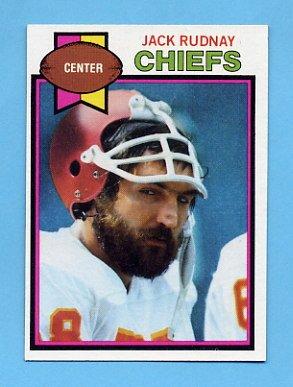 1979 Topps Football #304 Jack Rudnay - Kansas City Chiefs