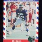 1990 Fleer Stars and Stripes Football #46 Eric Allen - Philadelphia Eagles