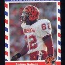 1990 Fleer Stars and Stripes Football #32 Rodney Holman - Cincinnati Bengals