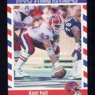1990 Fleer Stars and Stripes Football #24 Kent Hull - Buffalo Bills