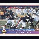 1991 Bowman Football #550 Bears vs. Saints