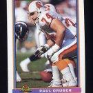 1991 Bowman Football #512 Paul Gruber - Tampa Bay Buccaneers
