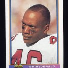 1991 Bowman Football #416 Tim McDonald - Phoenix Cardinals