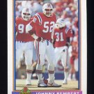 1991 Bowman Football #329 Johnny Rembert - New England Patriots