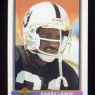 1991 Bowman Football #247 Garry Lewis - Los Angeles Raiders