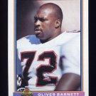 1991 Bowman Football #023 Oliver Barnett - Atlanta Falcons