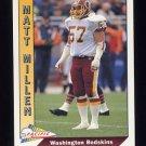 1991 Pacific Football #660 Matt Millen - Washington Redskins