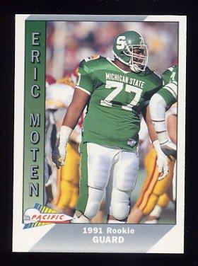 1991 Pacific Football #543 Eric Moten RC