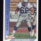 1991 Pacific Football #479 Andy Heck - Seattle Seahawks