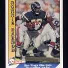 1991 Pacific Football #446 Ronnie Harmon - San Diego Chargers