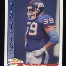 1991 Pacific Football #358 Brian Williams - New York Giants