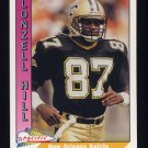 1991 Pacific Football #338 Lonzell Hill - New Orleans Saints