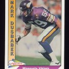 1991 Pacific Football #288 Mark Dusbabek - Minnesota Vikings