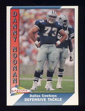 1991 Pacific Football #102 Danny Noonan - Dallas Cowboys