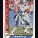 1991 Pacific Football #100 Kelvin Martin - Dallas Cowboys