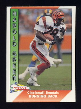 1991 Pacific Football #067 Harold Green - Cincinnati Bengals