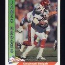 1991 Pacific Football #060 James Brooks - Cincinnati Bengals