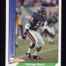 1991 Pacific Football #053 Mike Singletary - Chicago Bears