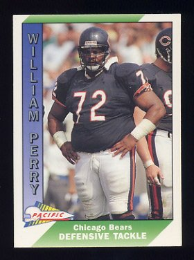 1991 Pacific Football #052 William Perry - Chicago Bears