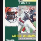 1991 Pinnacle Football #289 Alfred Williams RC - Cincinnati Bengals