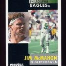 1991 Pinnacle Football #237 Jim McMahon - Philadelphia Eagles