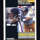 1991 Pinnacle Football #161 Tunch Ilkin - Pittsburgh Steelers