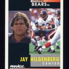 1991 Pinnacle Football #065 Jay Hilgenberg - Chicago Bears