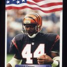 1992 All World Football #254 Derrick Fenner - Cincinnati Bengals