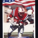 1992 All World Football #232 Jon Vaughn - New England Patriots