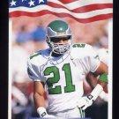 1992 All World Football #229 Eric Allen - Philadelphia Eagles