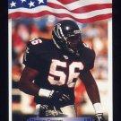 1992 All World Football #212 Darion Conner - Atlanta Falcons