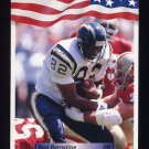 1992 All World Football #206 Rod Bernstine - San Diego Chargers