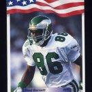 1992 All World Football #203 Fred Barnett - Philadelphia Eagles