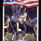 1992 All World Football #161 John Friesz - San Diego Chargers