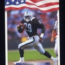 1992 All World Football #096 Eric Dickerson - Los Angeles Raiders