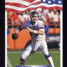 1992 All World Football #095 Phil Simms - New York Giants