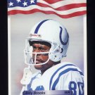 1992 All World Football #089 Billy Brooks - Indianapolis Colts