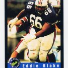 1992 Classic Football #96 Eddie Blake - Miami Dolphins Ex