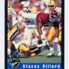 1992 Classic Football #73 Stacey Dillard - New York Giants